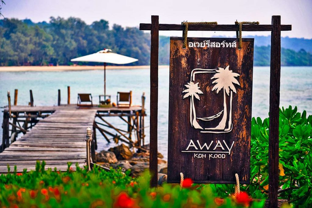 Thailand.Koh Kood.Two Island Combination.Away-resort-pier