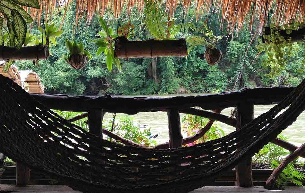 Floating hotel, River Kwai